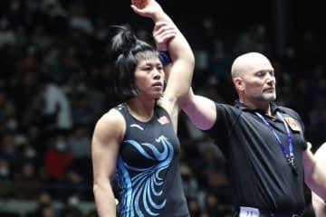 アジア選手権優勝のハン・ユエ(中国)