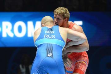 世界5連覇を目指すアルトゥール・アレクサニャン(アルメニア)