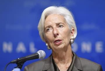 IMFのラガルド専務理事