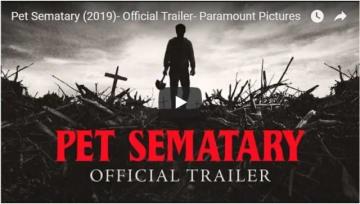 かなり不気味……(YouTube『ペット・セマタリー(原題) / Pet Sematary』海外版予告編のスクリーンショット)