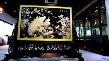 美しい貝殻彫刻 温州洞頭の無形文化遺産