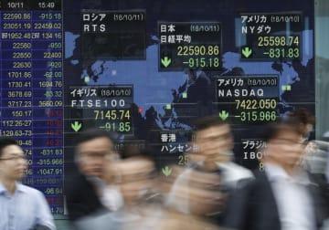 Tokyo stocks plunge