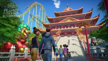 遊園地運営シム『Planet Coaster』世界10か国の建築テーマDLC「World's Fair Pack」発表!―1.8アップデートも間もなく