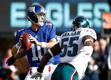 Eli Manning Leads Giants to 28-23 Win vs Eagles