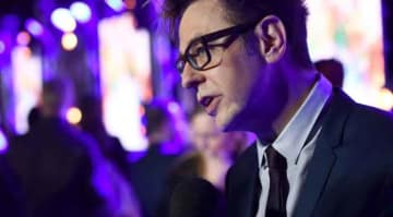 LONDON, ENGLAND - APRIL 24: Director James Gunn attends the European launch event of Marvel Studios' 'Guardians of the Galaxy Vol. 2.' at the Eventim Apollo on April 24, 2017 in London, England. (Photo by Ian Gavan/Getty Images for Disney)