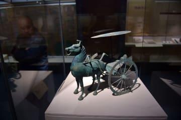 長城文化展で古代文化を体験 山西博物院