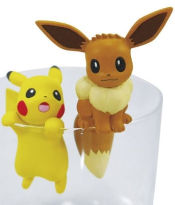 「PUTITTOピカチュウ&イーブイ」カプセル:300円(税込)、BOX:300円(税別)(C)Nintendo・Creatures・GAME FREAK・TV Tokyo・ShoPro・JR Kikaku(C)Pokemon