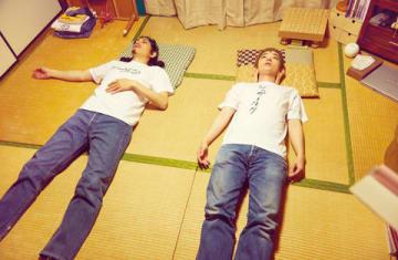 映画「聖☆おにいさん」の一場面 (C)中村光・講談社/パンチとロン毛 製作委員会