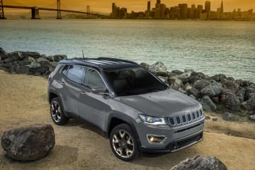 Jeep Compass Limited Black Roof Edition(ブラックルーフ・エディション)