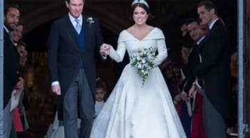 Princess Eugenie Of York & Jack Brooksbank Are Married At Windsor Castle