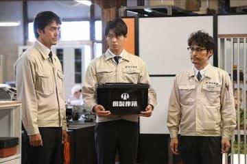 連続ドラマ「下町ロケット」第1話場面写真 (C)TBS