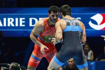 昨年の80kg級に続く優勝なるか、マクシム・マヌキャン(アルメニア)