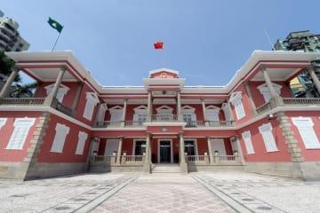 マカオ特別行政区政府本部ビル(写真:GCS)