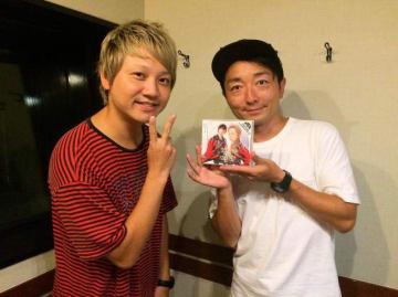 勇-YOU-さん(左)と野島裕史