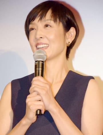 連続ドラマ「大恋愛~僕を忘れる君と」のトークイベントに登場した草刈民代さん