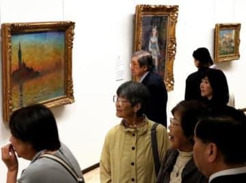 印象派を中心とした名画が並ぶ「ブリヂストン美術館展」