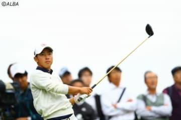 「65」をマークした2日目から一転… アマ桂川有人は29位に急落となった(撮影:村上航)