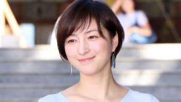連続ドラマ「僕とシッポと神楽坂」のイベントに登場した広末涼子さん