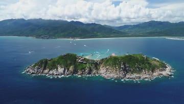 空も海も自由に楽しめる 秋の海南島