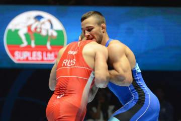 75kg級に続く優勝を目指すビクトル・ネメス(セルビア)