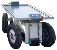 実証実験で使用された自動式搬送ロボット(画像: 発表資料より)