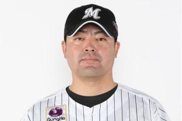 小林雅英投手コーチ【写真提供:千葉ロッテマリーンズ】