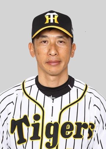 Hanshin Tigers minor league manager Akihiro Yano
