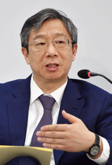 China's central bank chief Yi Gang