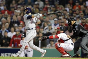 2ラン本塁打を放ったアストロズのマーウィン・ゴンザレス【写真:Getty Images】