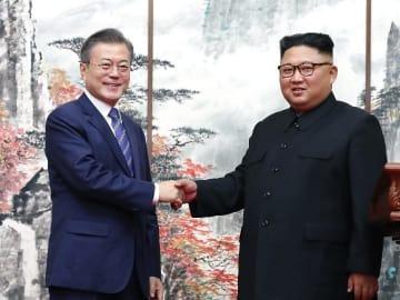 文在寅大統領、朝鮮は全ての核兵器を廃棄する