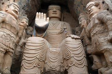 「石窟の元祖」天梯山石窟 甘粛省武威市