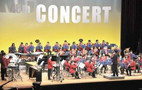躍動感ある演奏で聴衆を魅了した北海道大谷室蘭高校の定期演奏会