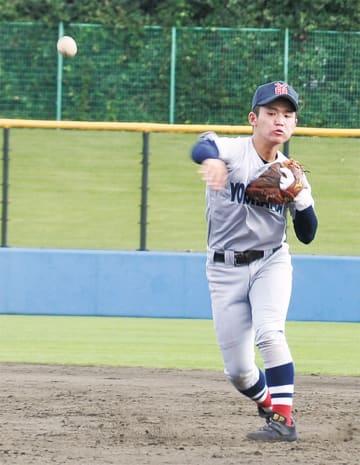 県大会決勝の9回に守備固めで出場