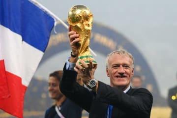 フランス代表をロシアW杯優勝に導いたデシャン監督 photo/Getty Images