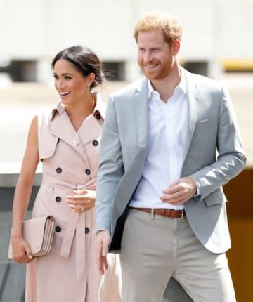 待望の第一子を妊娠したメーガン妃とヘンリー王子(写真は今年7月にイギリスで撮影されたもの) - Max Mumby / Indigo / Getty Images