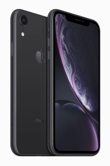 米アップルのスマートフォン「iPhoneXR」(同社提供)