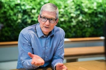 米アップルCEO 中国の「双創」には大きな可能性が潜む