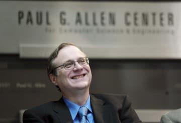 ポール・アレン氏=2003年10月、米シアトル(AP=共同)