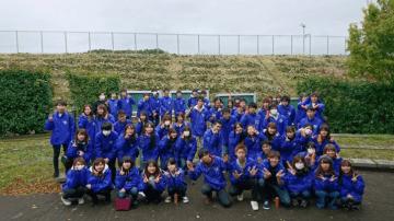 Shonan BMWスタジアム平塚で「赤い羽根募金」湘南ベルマーレとのコラボピンバッジ配布も