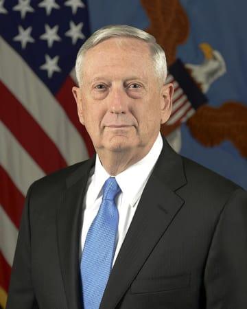 マティス国防長官 マティス 国防長官 アメリカ トランプ 大統領 辞任