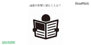 日本財団「18歳意識調査」第2回テーマは新聞について