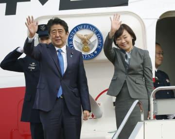 Japan PM Abe sets off on 5-day European tour