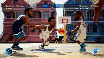 2on2のバスケットボールゲーム『NBA 2K プレイグラウンド2』発売―自由自在にコートを跳び回れ!