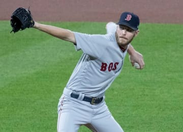 Red Sox ace Chris Sale admitted to hospital for stomach illness
