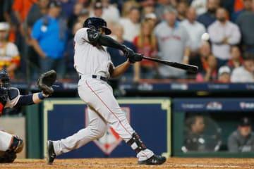 満塁弾を放ったRソックス・ブラッドリーJr.【写真:Getty Images】