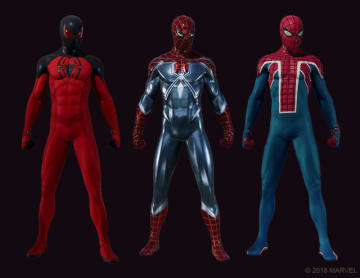 『Marvel's Spider-Man』DLC「黒猫の獲物」にて追加される3種のスーツが公開!