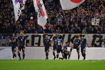 ウルグアイを撃破した日本代表 photo/Getty Images