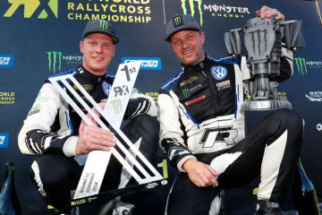 世界ラリークロス第11戦:ソルベルグがリタイアも、フォルクスワーゲンが2018年チーム王者に