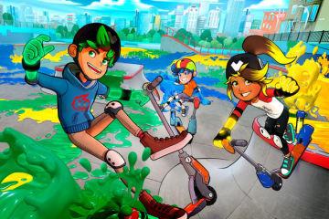 キックスケーターで世界を塗り替えろ!新作スポーツACT『Crayola Scoot』海外発売