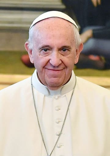 ローマ法王フランシスコ(ロイター=共同)